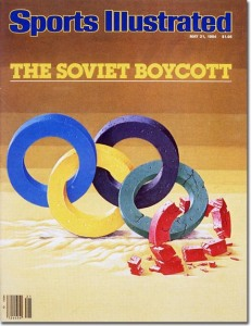 The Soviet Boycott of the Los Angeles OlympicsMay 21, 1984Art Dept.credit: