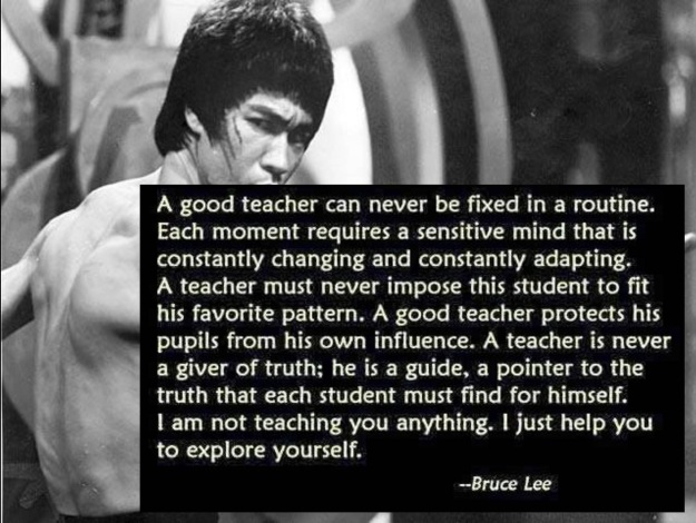 bruce lee teaching 2