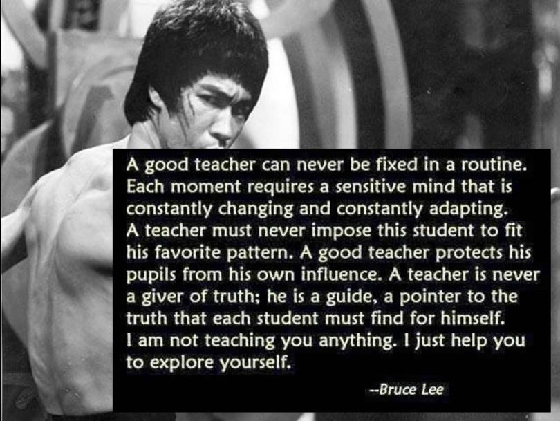 bruce lee teaching 2