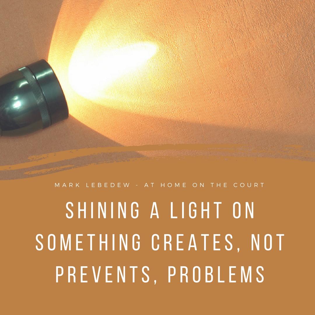 10 - shining a light