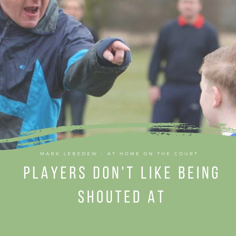 13 - players shouted at