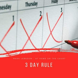 18 - 3 day rule