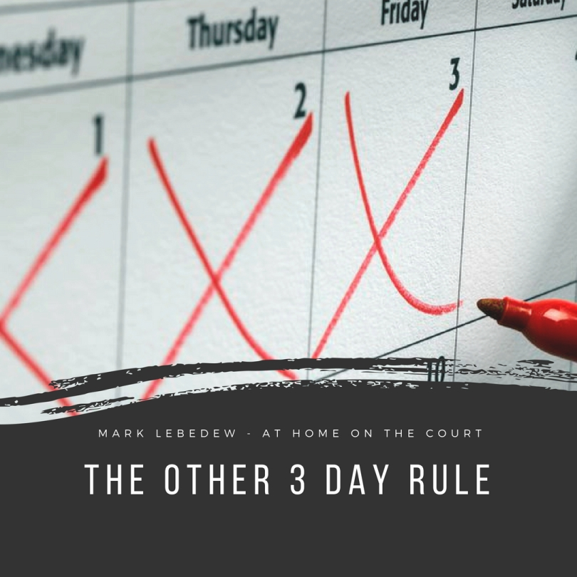 51 other 3 day rule