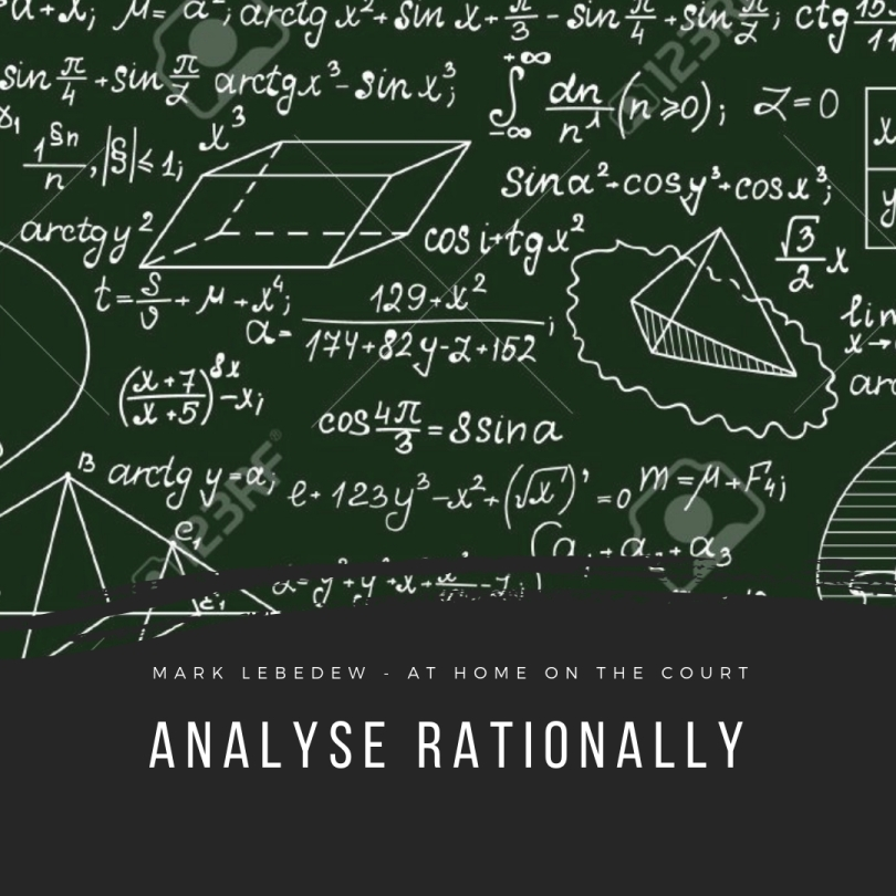53 - analyse rationally