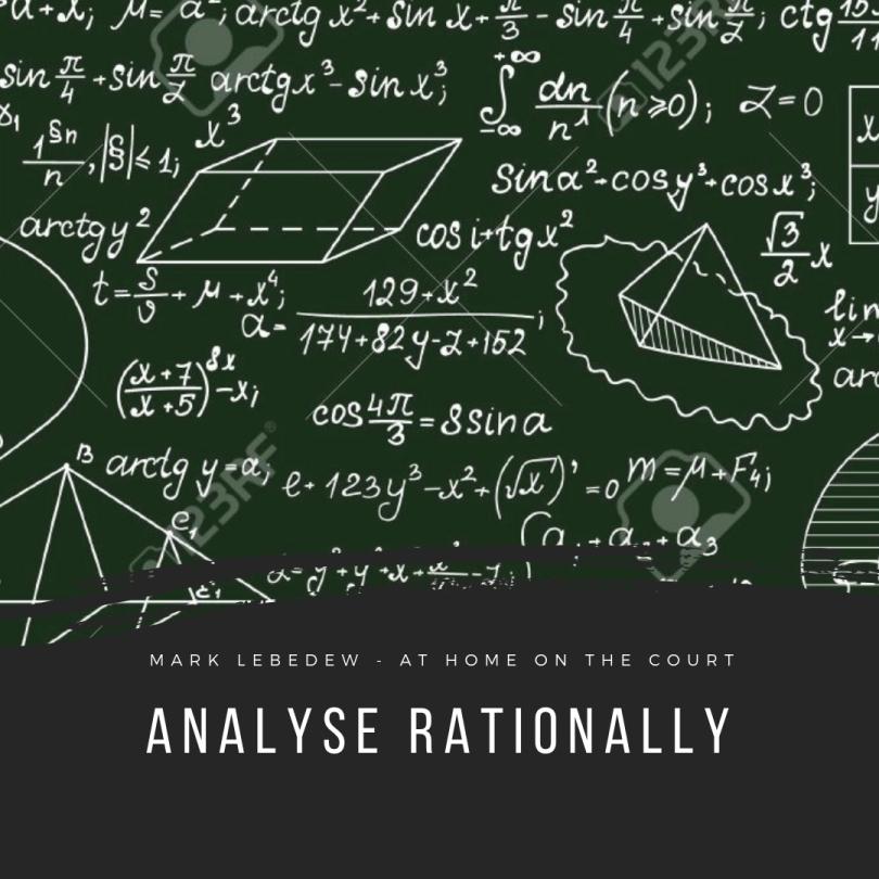 53 - analyse rationally